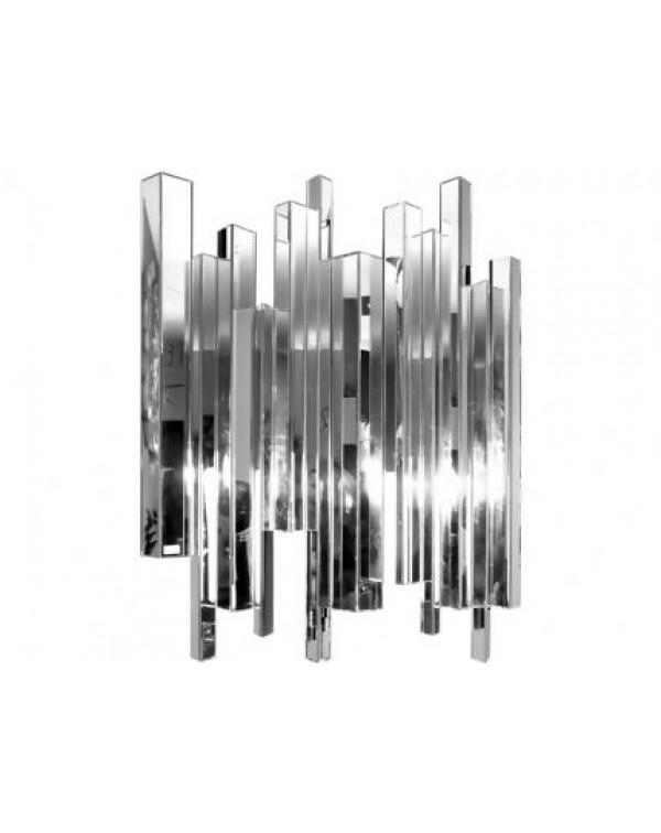 Libra crystalline effect mirror embossed edges